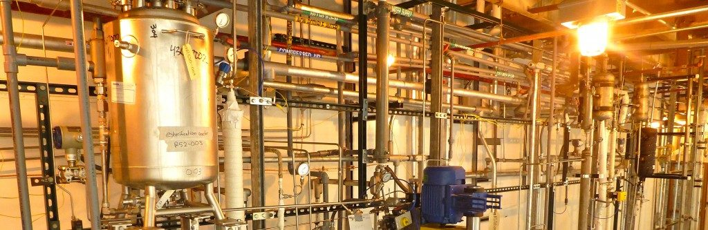 Chemical Process Development Scale-Up Pilot Plants Demonstration Plant